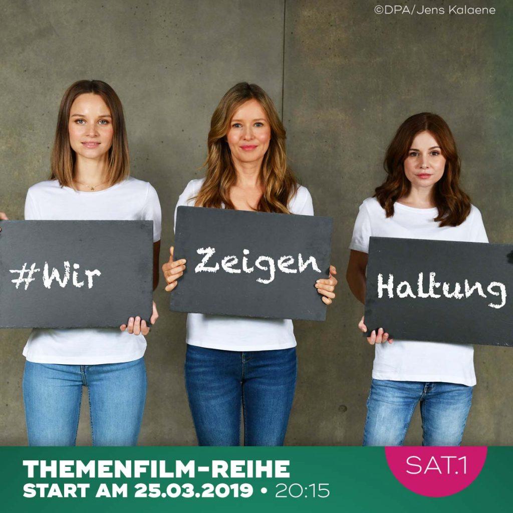 v.l. Sonja Gerhardt, Josefine Preuss und Stefanie Stappenbeck.