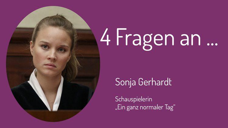 """Sonja Gerhard spielt im Sat1-Drama """"Ein ganz normaler Tag"""" eine Staatsanwältin."""