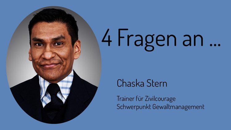 Der Coach für Zivilcourage vom Team Gewaltmanagement im Interview mit den Zivilen Helden.