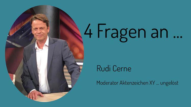 Zivilcourage ist ein wichtiges Thema findet Rudi Cerne. Aus diesem Grund gibt es seit 2002 den mit 10.000 Euro dotieren XY-Preis für Zivilcourage.