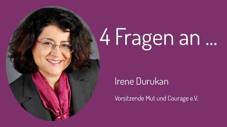 Irene Durukan hat den XY-Zivilcouragepreis für ihren Mut gewonnen