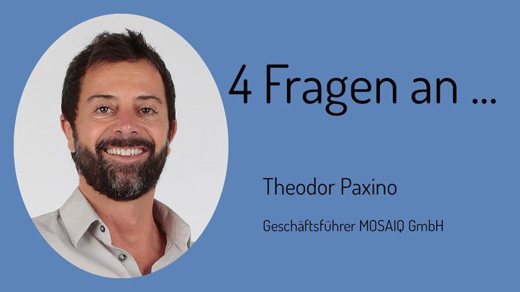Vier Fragen rund um die Themen Gewalt, Radikalisierung und Hass im Netz beantwortet Theodor Paxino von der Internetagentur mosaiq.