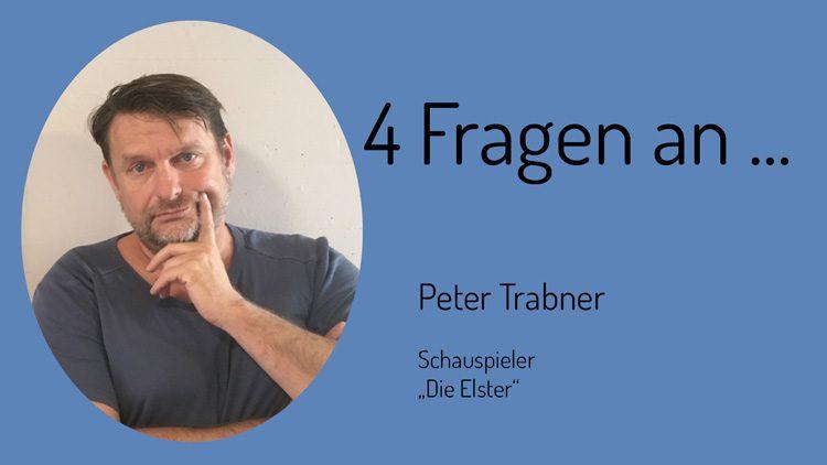 Zu den Themen Zivilcourage und Hass im Netz spricht Schauspieler Peter Trabner mit den Zivilen Helden