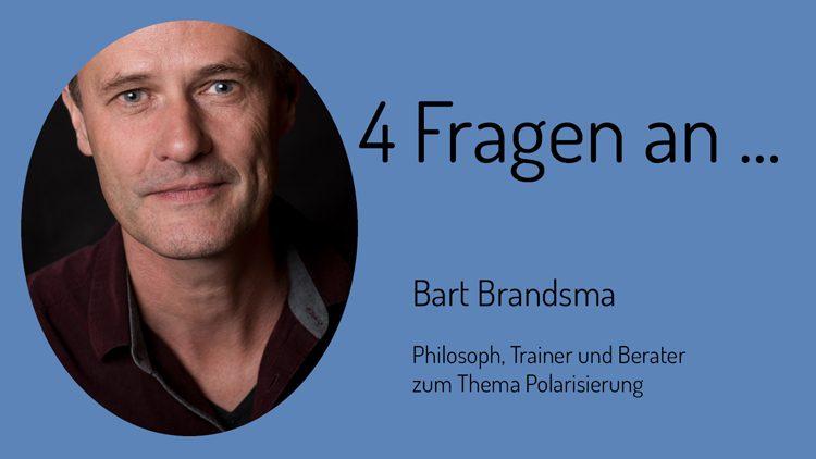 Interview mit Bart Brandsma, ein niederländischer Experte für Polarisierung