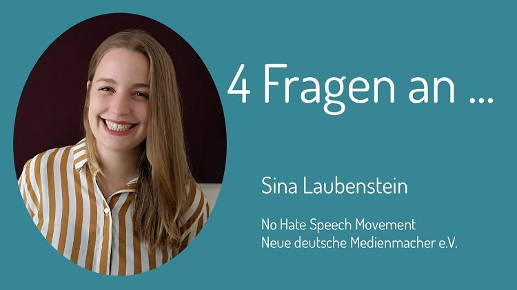 Hate Speech, Hetze im Netz, Extremismus - das sind die Themen, über die Sina Laubenstein im Interview mit Zivile Helden spricht.